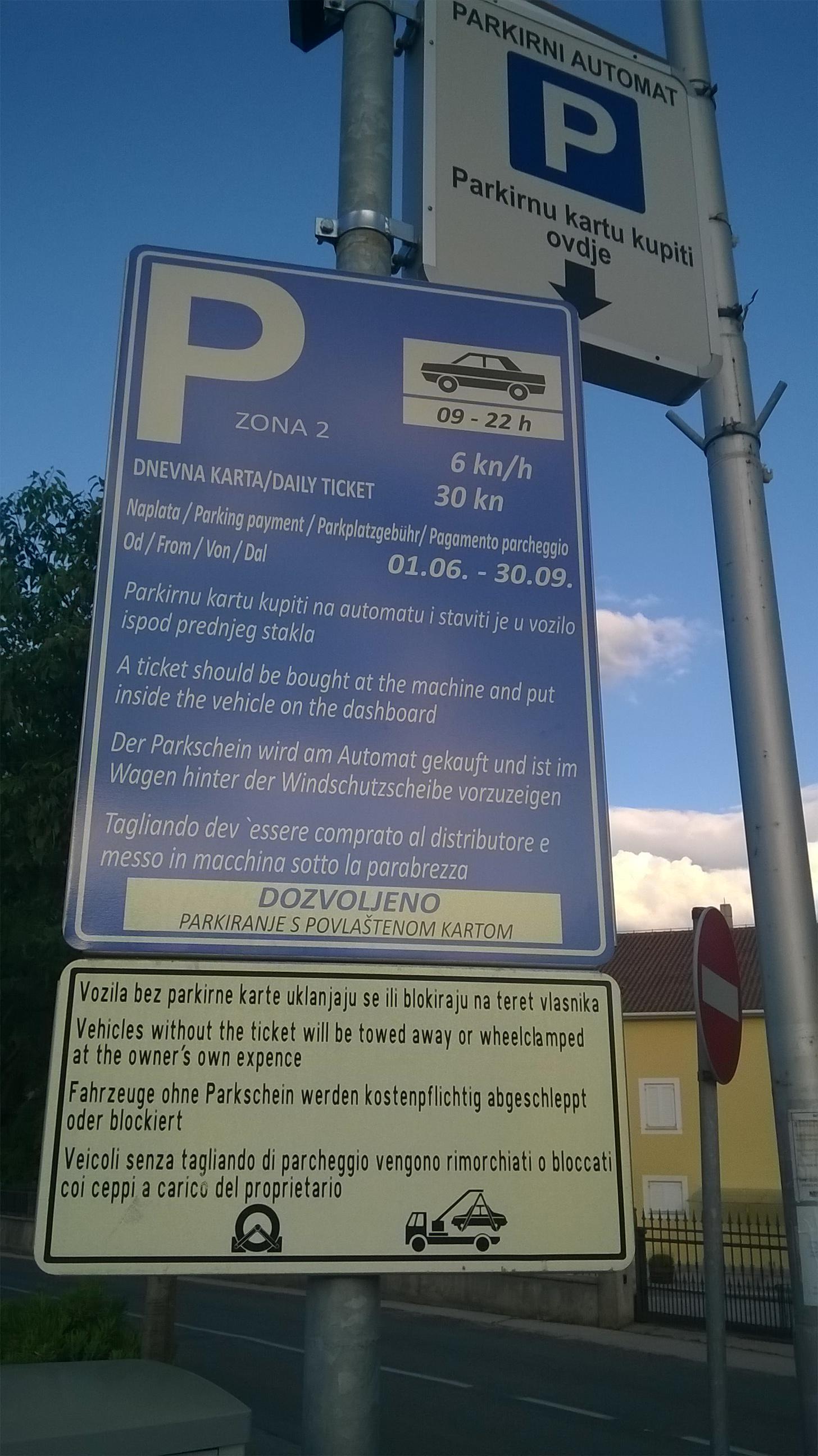 Počinje naplata parkiranja