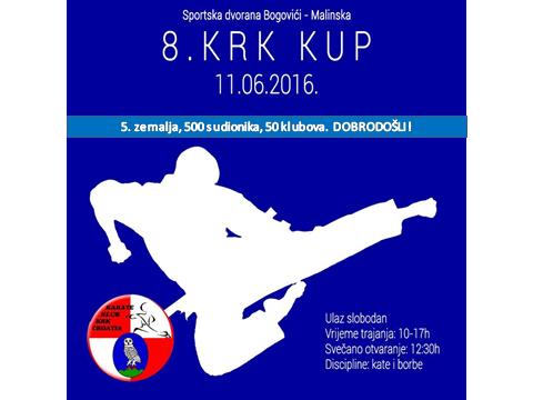 8. Krk Kup – Sportska dvorana Bogovići, 11. lipnja u 10.00 sati