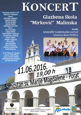 Koncert glazbene škole u Portu