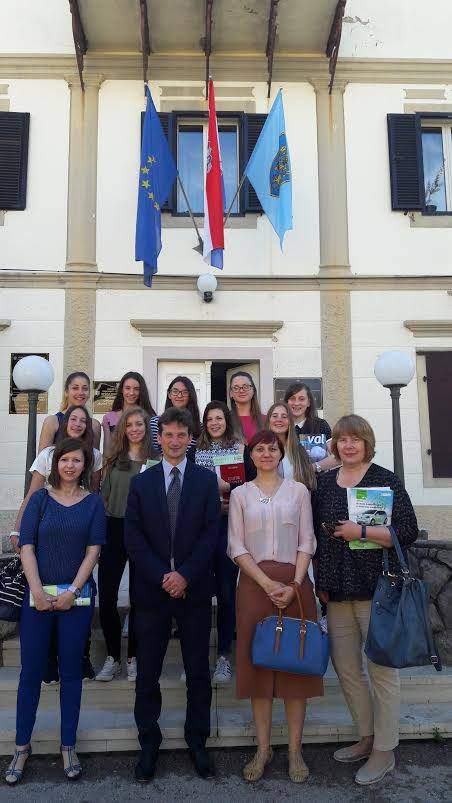 Načelnik Robert Anton Kraljć primio najsupješnije učenike Osnovne škole Dubašnica