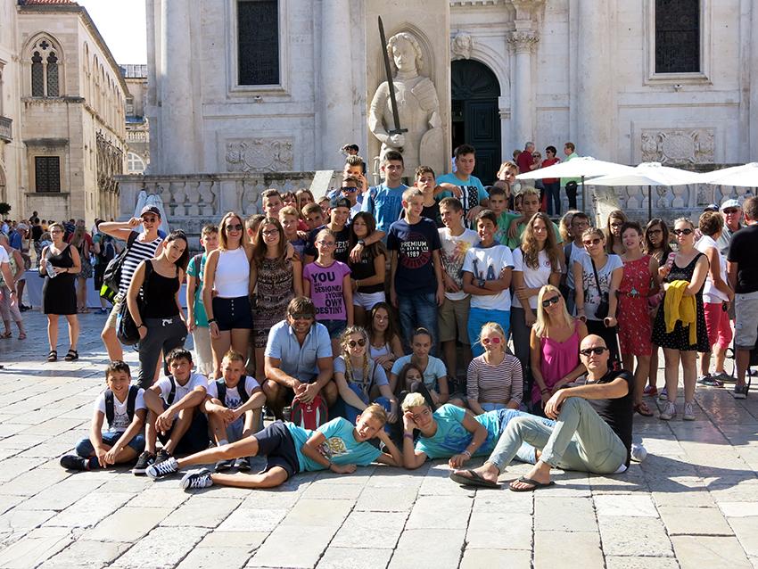 Škola Malinska – Dubašnica: Osmaši u Dubrovniku