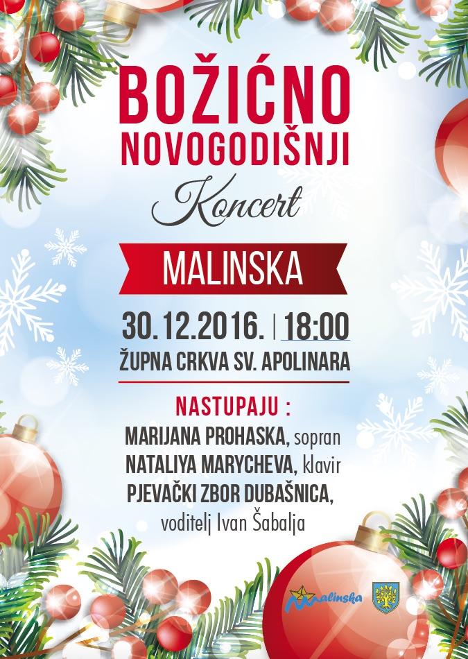 Božićno – novogodišnji koncert u crkvi Svetoga Apolinara