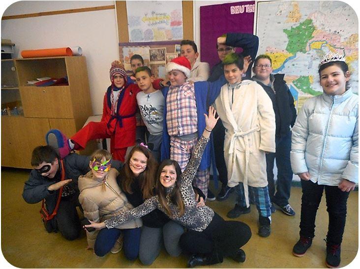 Maškarani školski sati u osnovnoj školi Malinska – Dubašnica