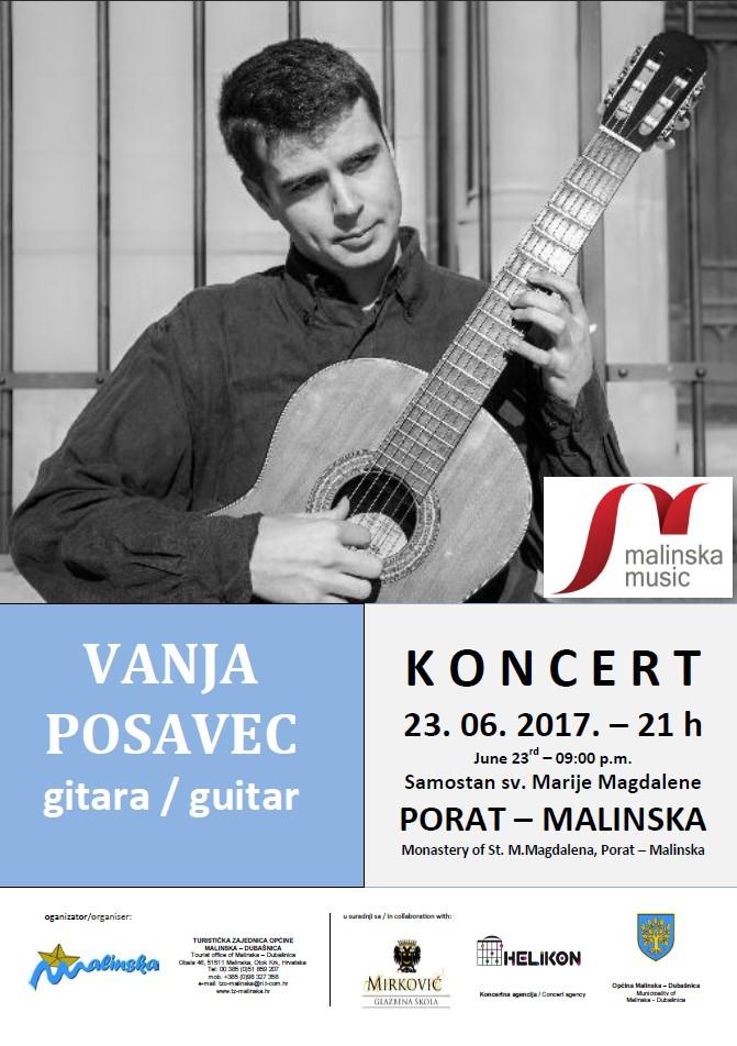 Koncert Vanje Posavca u Portu