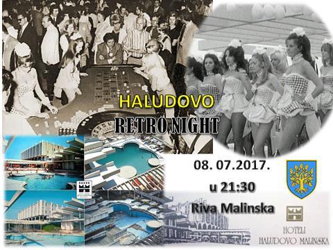 Haludovo Retro Night