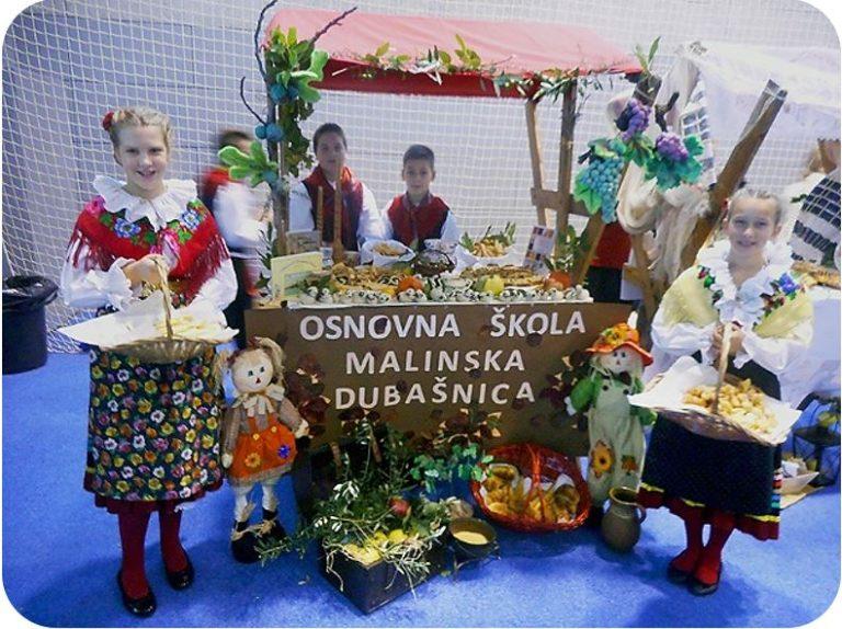 Svehrvatska smotra Dani kruha u Osnovnoj školi Malinska – Dubašnica