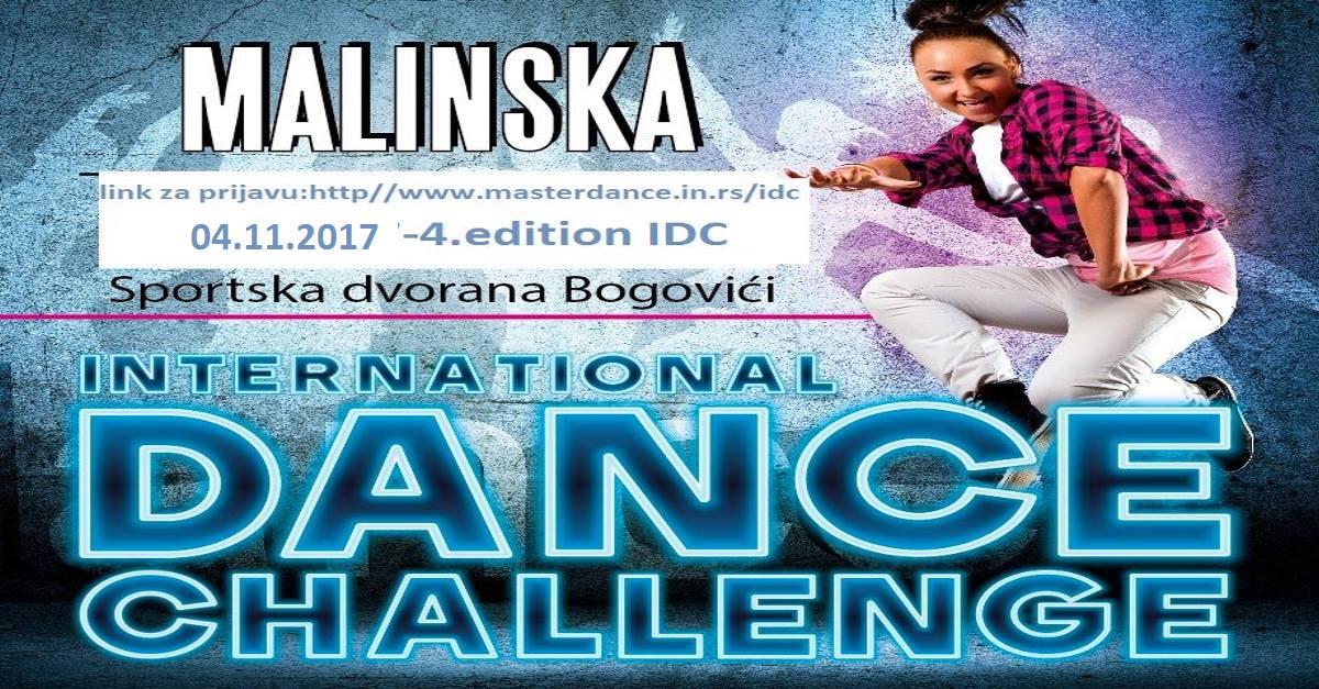 4. International dance challenge -IDC-  u Malinskoj, 04. studenoga 2017. godine