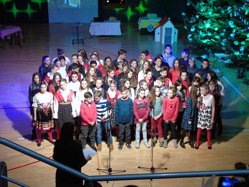Božićni koncert u Osnovnoj školi Malinska – Dubašnica
