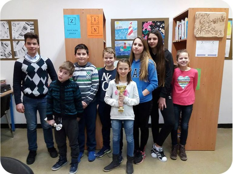 Izvrsni šahisti i šahistice iz Osnovne škole Malinska – Dubašnica