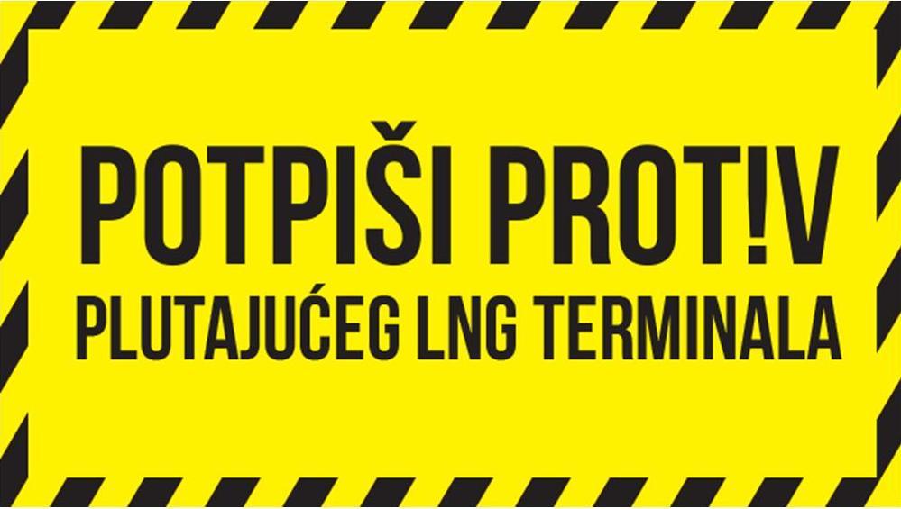 Prosvjed protiv plutajućeg LNG terminala