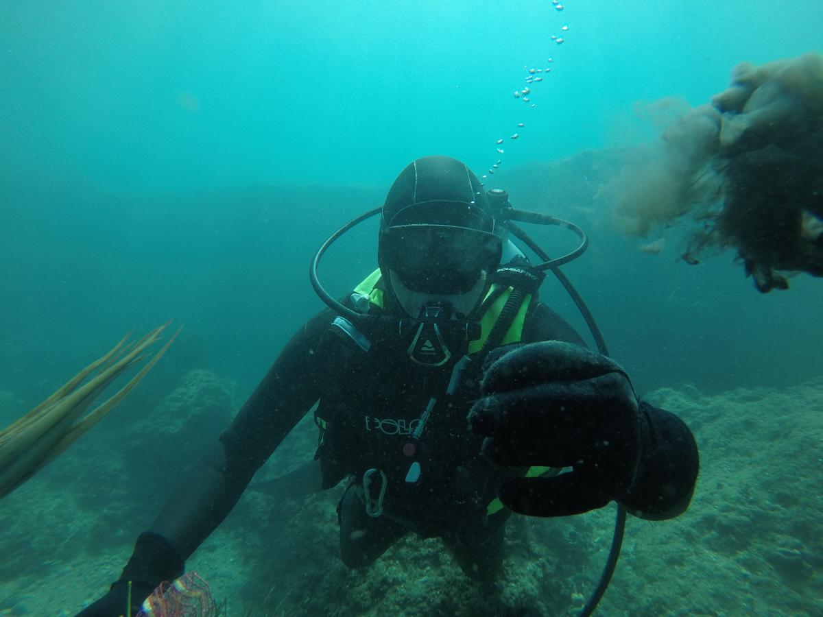 Ekološko edukativna akcija čišćenja podmorja u akvatoriju Malinske
