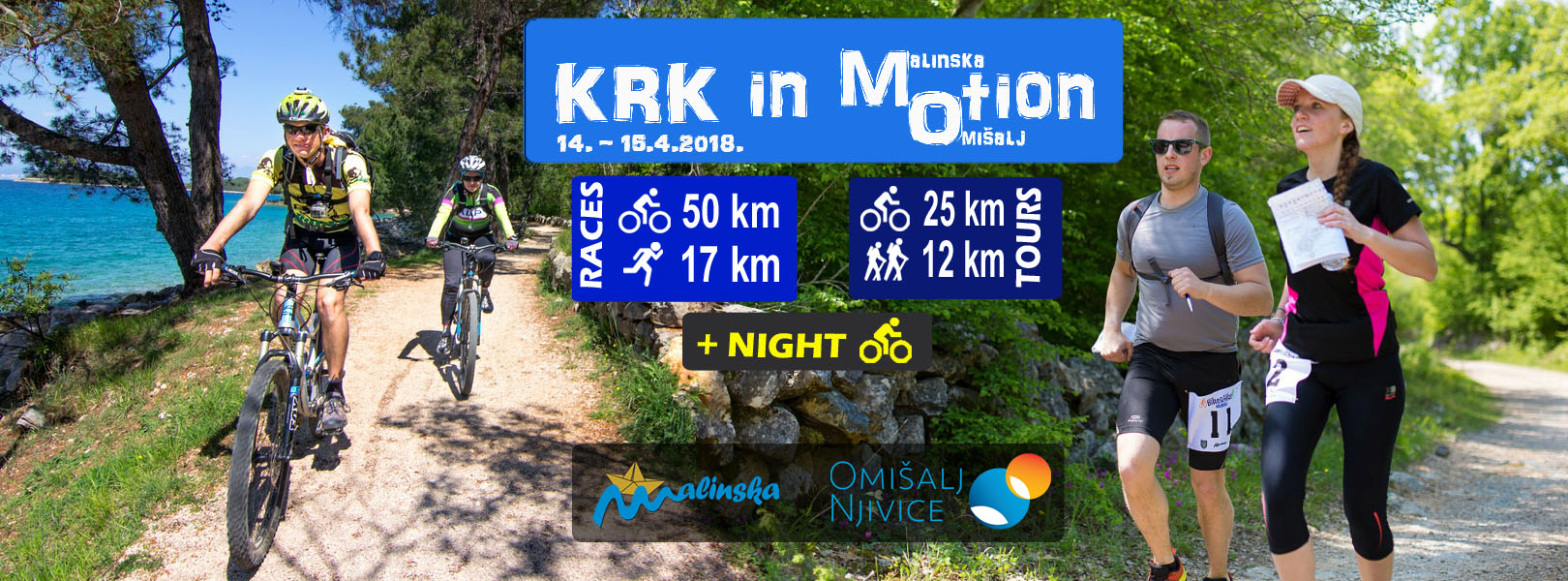 Krk in MOtion – provedite aktivan vikend u Malinskoj