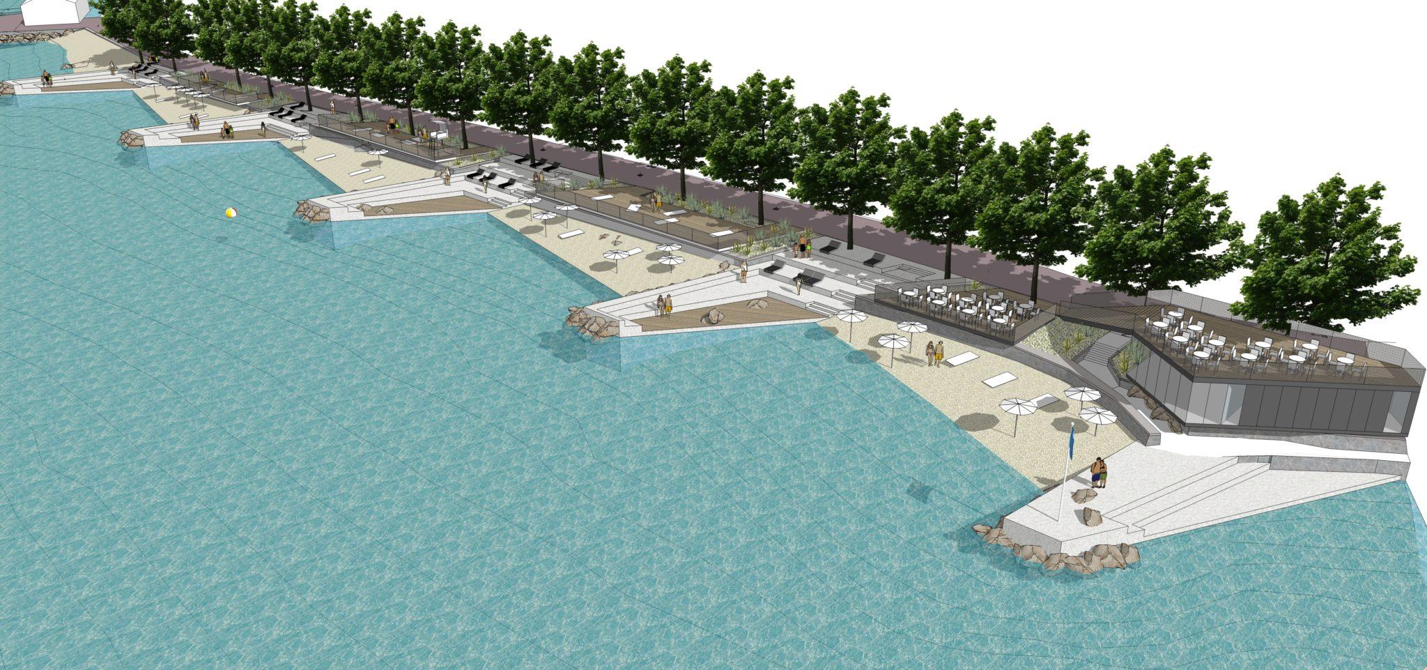 Javno izlaganje idejnog projekta za uređenje plaže Vruja u Malinskoj