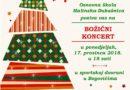 Božićni koncert Osnovne škole Malinska-Dubašnica