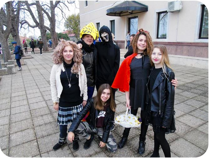 Veseli mesopusni utorak u našoj školi