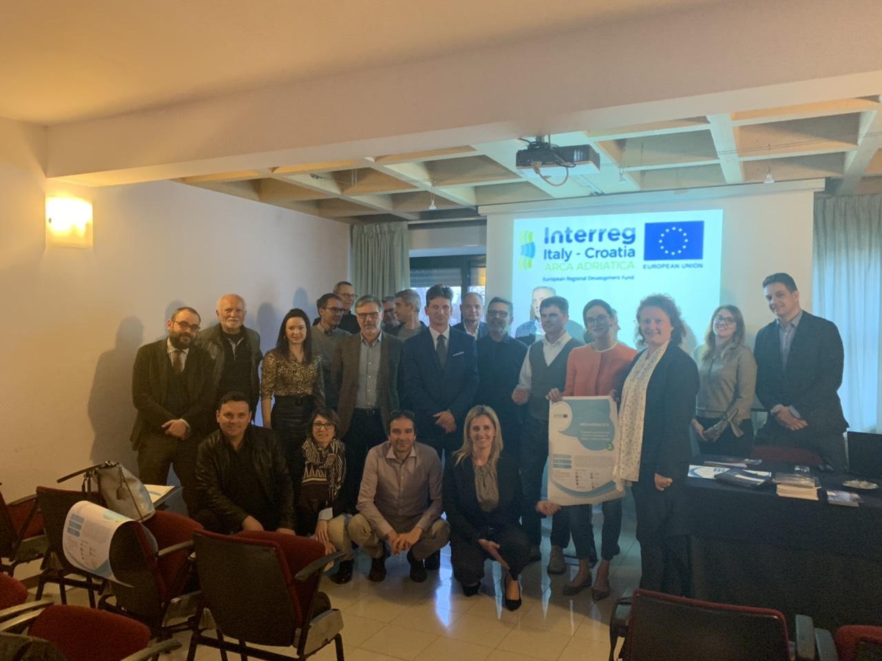 Održan Kick-Off Meeting EU projekta Arca Adriatica