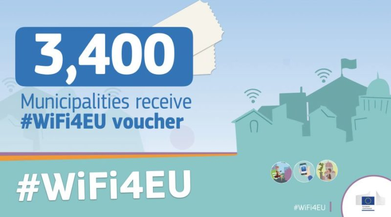 Europska unija financira troškove opreme i instaliranja pristupnih točaka bežičnog inerneta na javnim površinama!