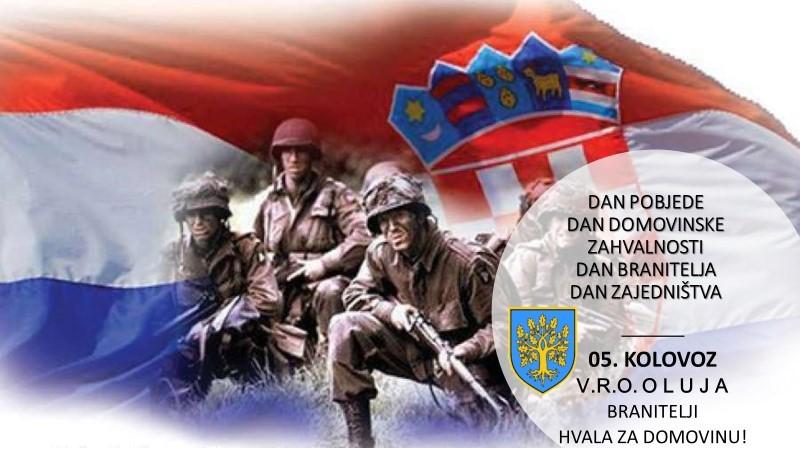 05. kolovoza – Dan pobjede i Domovinske zahvalnosti, Dan hrvatskih branitelja