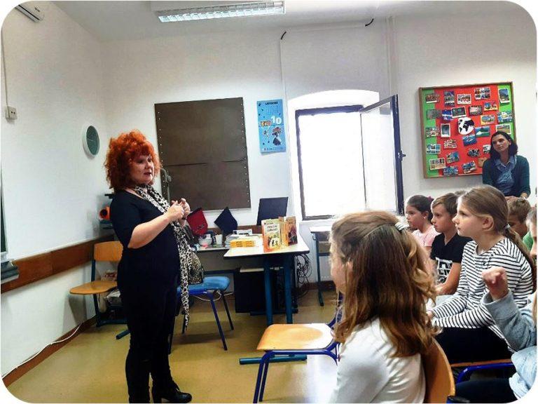 Mjesec hrvatske knjige u Osnovnoj školi