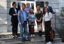 Primanje tri darovite stolnotenisačice stolnoteniskog kluba Malinska – Dubašnica u Krku