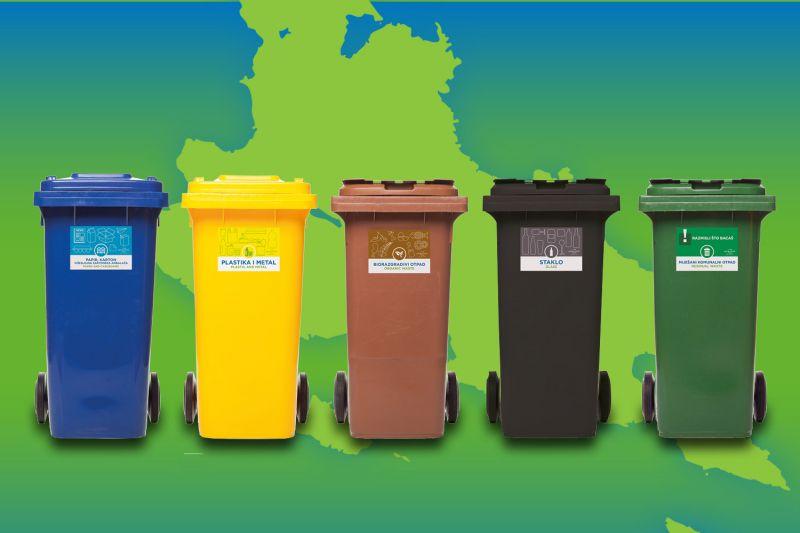 Raspored odvoza otpada tijekom 2021. godine