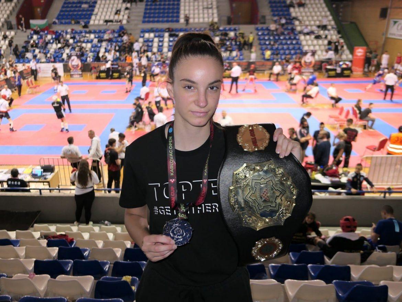 Ela Znaor u Karlovcu osvojila Europski kickboxing kup u light contactu