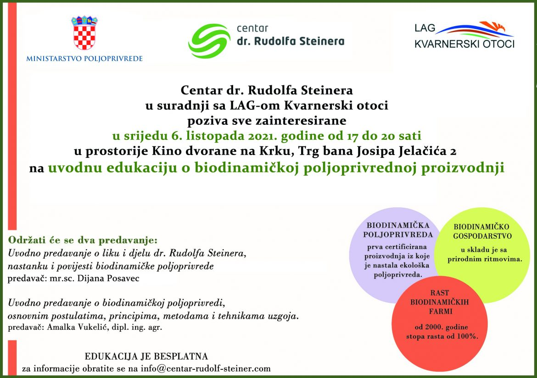 Interview s ravnateljicom Centra dr. Rudolfa Steinera, mr.sc. Dijanom Posavec o biodinamičkoj poljoprivredi